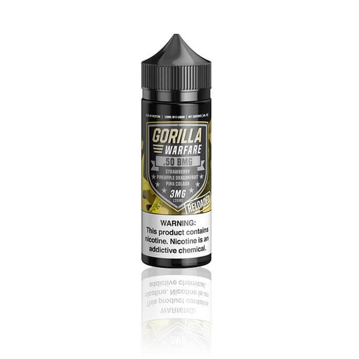Gorilla Warfare Ejuice .50 BMG Reloaded - 120mL