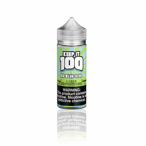 Keep It 100 - OG Blue Iced (Blue Slushie Iced) 100mL