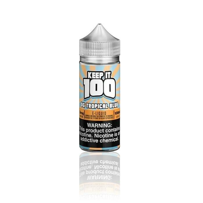 Keep It 100 – OG Tropical Blue (Blue Slushie Tropical) 100mL