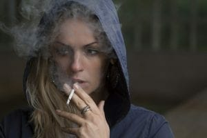 cigarette smokers are considered less attractive than vapers
