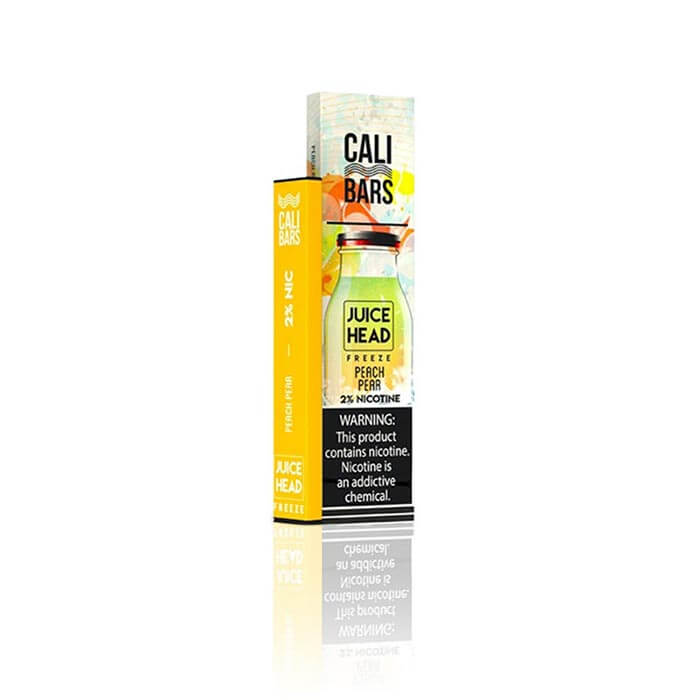Juice Head Disposable 5% by Cali Bars Peach Pear Freeze