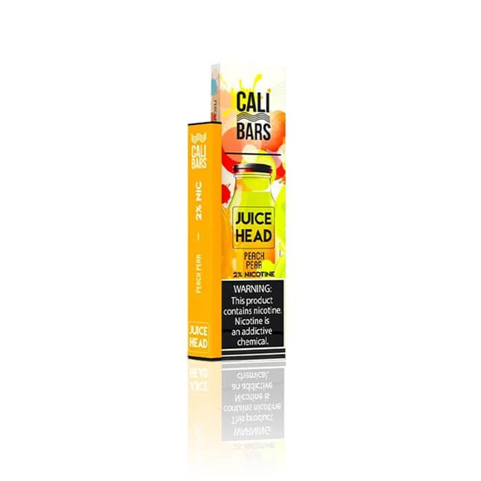Juice Head Disposable 5% by Cali Bars Peach Pear