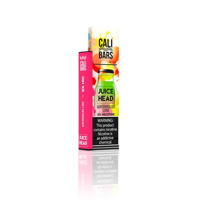 Juice Head Disposable 5% by Cali Bars Watermelon Lime