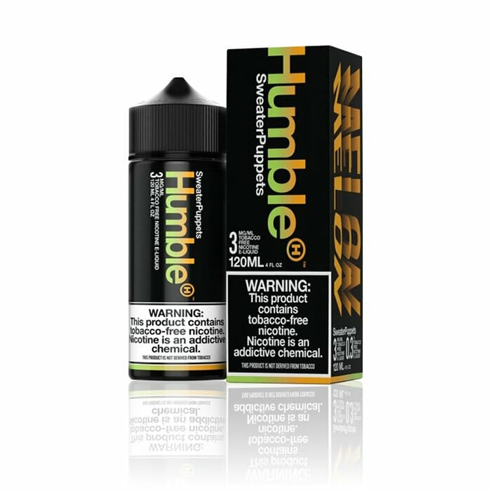 Humble Synthetic E-Liquid - Sweater Puppets 120mL